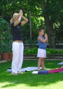 Chiara tutti, baby yoga
