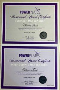 insegnante certificato pilates